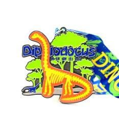 Diplodocus 1M 5K 10K 13.1 26.2 registration logo