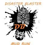 Disaster Blaster 5K Mud Run registration logo
