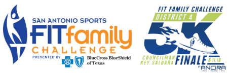 District 4 Fit Family Challenge Finale 5K registration logo