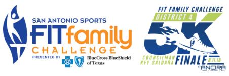 District 4 Fit Family Challenge Finale 5K registration logo