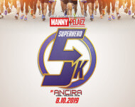 District 8 Superhero 5K registration logo