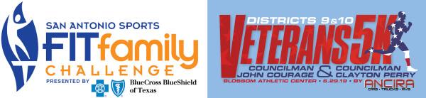 District 9 & 10 Veteran's 5K registration logo