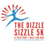 Dizzle Sizzle 5K and Tutu Trot 1 Mile Fun Run registration logo