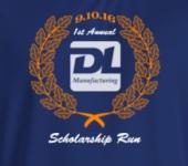 DL Scholarship Run registration logo