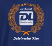 DL Scholarship Run registration logo