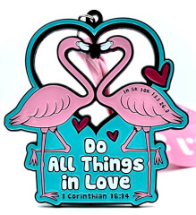 Do All Things In Love 1M 5K 10K 13.1 26.2 registration logo