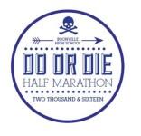 Do or Die Half Marathon and 5k registration logo