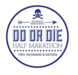 Do or Die Half Marathon and 5k registration logo