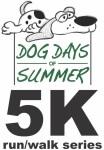 Dog Days of Summer 5K registration logo