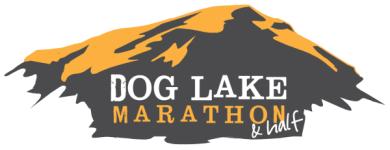 Dog Lake Marathon & Half Marathon registration logo