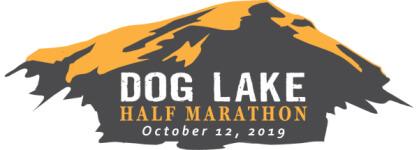 Dog Lake Marathon & Half registration logo