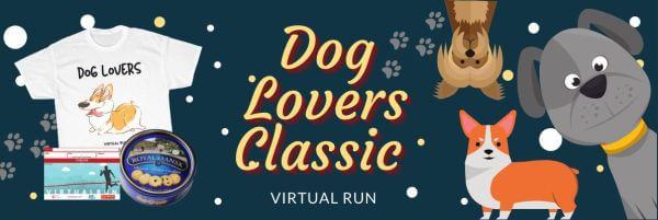 Dog Lovers Classic Virtual Run registration logo