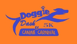 Doggie Dash and Canine Carnival registration logo