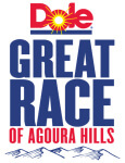 Dole Great Race - Road Half Marathon, Trail Half Marathon, 10K, 5K, 1M registration logo