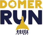 Domer Run registration logo