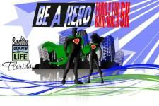 Be a Hero Family Fun Run/Walk 5K registration logo