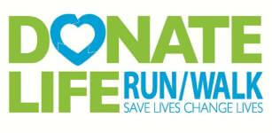Donate Life Run/Walk 5K/10K registration logo