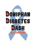 Doniphan Diabetes Dash registration logo