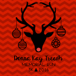 Donna Kay Treesh Memorial Run registration logo