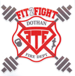 Dothan Fire Department Fit To Fight 5K/10K registration logo