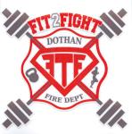 Dothan Fire Department Fit To Fight 5K/10K registration logo