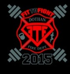 Dothan Fire Department Fit to Fight registration logo