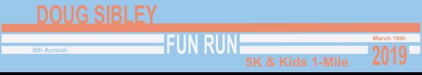 Doug Sibley Memorial Scholarship 5K registration logo