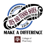 Dr. James Robertson Jr. Ties & Tennis Shoes Memorial Fun Run  registration logo