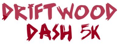 Driftwood Dash 5K registration logo