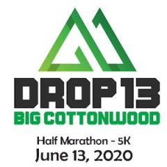 Drop13 Half Marathon & 5K registration logo