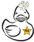 Ducks and Daisy Run registration logo