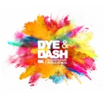Dye & Dash 5K registration logo