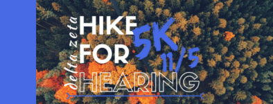 DZ Hike for Hearing  registration logo