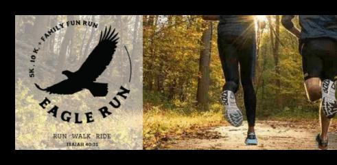 EagleRun registration logo