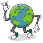 Earth Day 5K registration logo