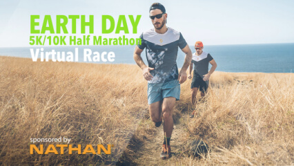 Earth Day 5K/10/Half Marathon registration logo