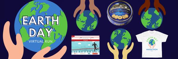Earth Day Virtual Run registration logo