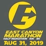 East Canyon Marathon registration logo