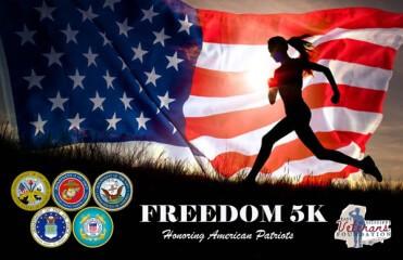 East Mississippi Freedom 5K registration logo