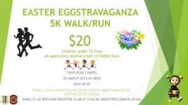 EASTER EGGSTRAVAGANZA 5K WALK/RUN registration logo