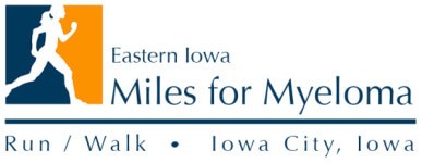 Eastern Iowa Miles for Myeloma registration logo