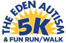 Eden Autism 5K registration logo