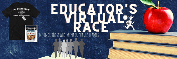 Educator's Virtual Race registration logo