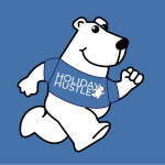 EIU Holiday Hustle registration logo