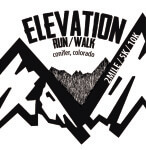 Elevation Run/Walk registration logo
