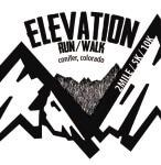 Elevation Run/Walk registration logo