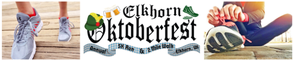 Elkhorn Oktoberfest - Live and Remote registration logo