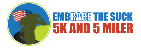 Embrace the Suck 5K and 5 Miler registration logo