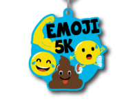 Emoji 5K registration logo