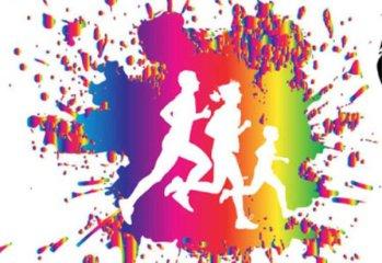 EMS Color Run registration logo